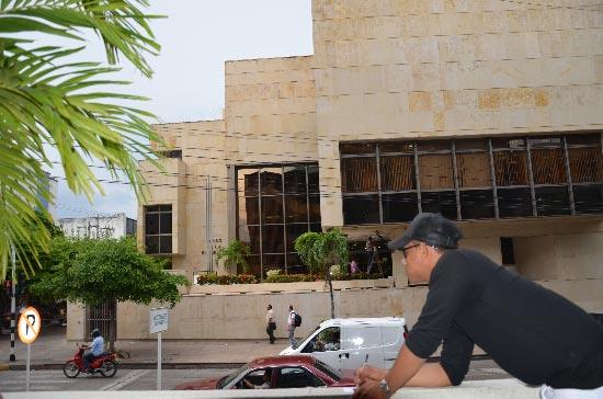 Desde el hotel Sicarare uno  de los líderes de la banda, identificado como Jaime Bonilla Esquivel, abogado y ex investigador, coordinaba los movimientos externos e internos del robo. Adamis Guerra / EL PILÓN.