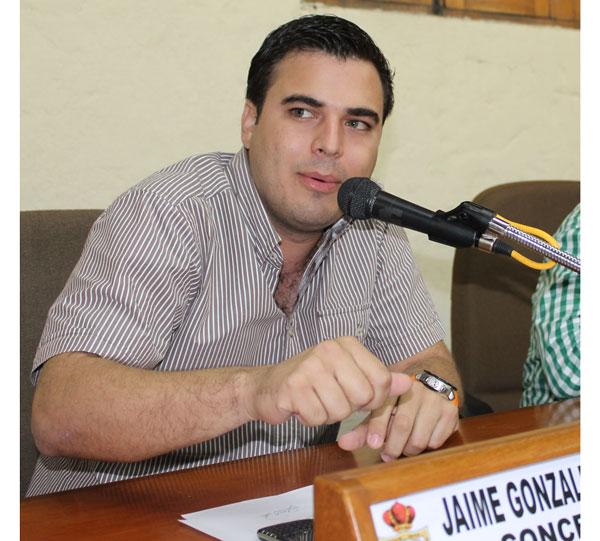 Jaime González, actual concejal de Valledupar, es el nuevo precandidato por el partido Cambio Radical a la Alcaldía. EL PILÓN/Archivo.