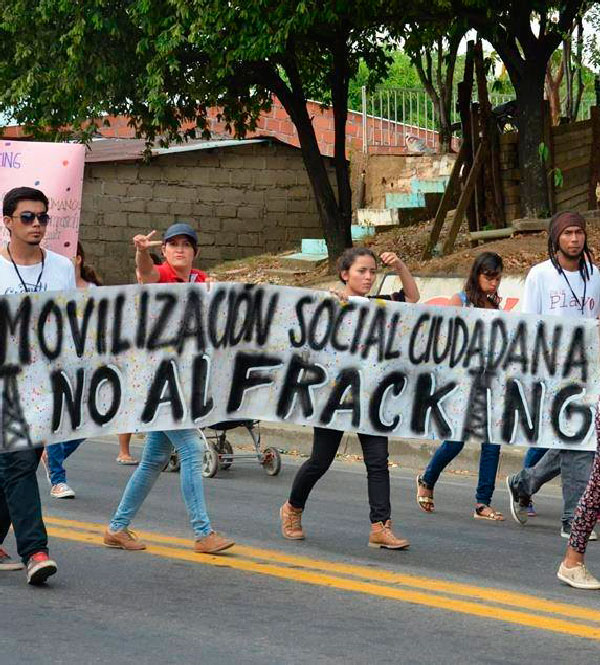 Las comunidades de San Martín siguen en su pie de lucha contra el fracking en Colombia. Foto. Referencia.