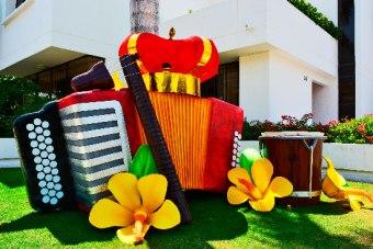 El Festival de la Leyenda Vallenata se toma las casas de la ciudad de Valledupar
