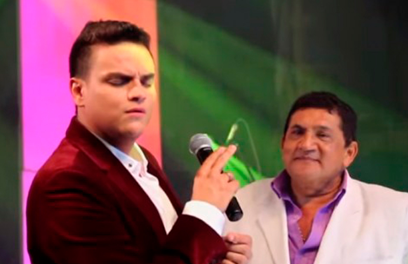 'Poncho' Zuleta y Silvestre Dangond.  Foto: Archivo.
