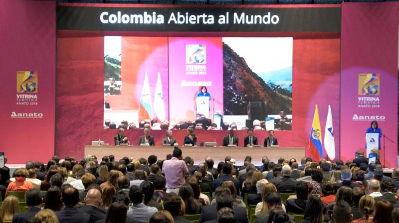 En el edificio Ágora se realizó el acto inaugural de la versión 37 de la Vitrina Turística de Anato. Suministrada/EL PILÓN