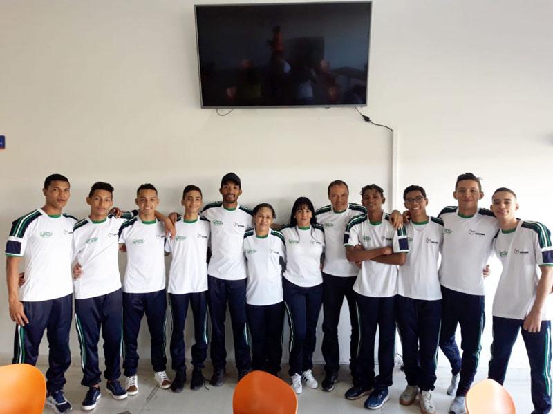 Las competencias iniciatan hoy en Sogamoso y el Cesar llevó a sus mejores competidores.