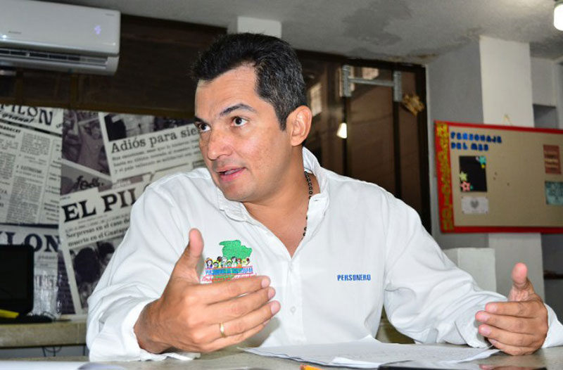 Alfonso Campo Martínez, personero de Valledupar, rendirá cuentas hoy durante una audiencia pública programada para las 8:00 a.m.