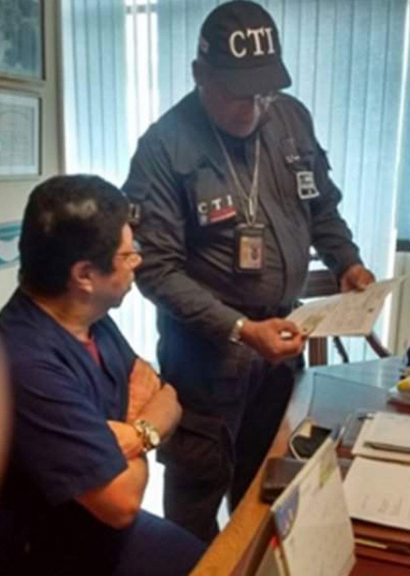 José Vargas Russo cuando fue capturado.