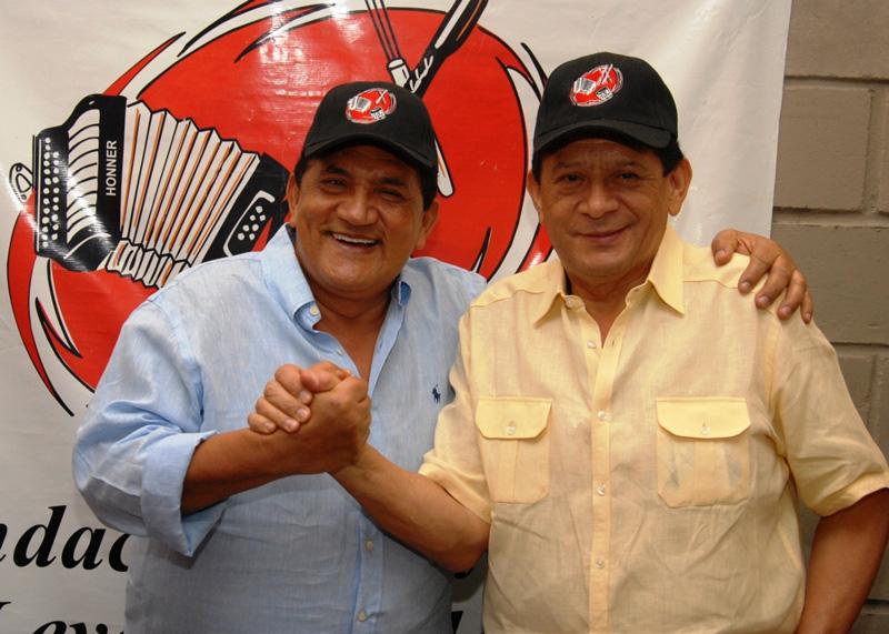 'Poncho' y Emiliano, los hermanos Zuleta, son el centro de atracción del DVD que se grabará este miércoles en el Club Campestre de Valledupar.