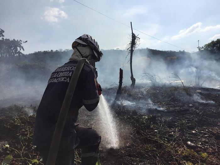 En la segunda ciudad del departamento se han presentando al rededor de 35 incendios forestales.