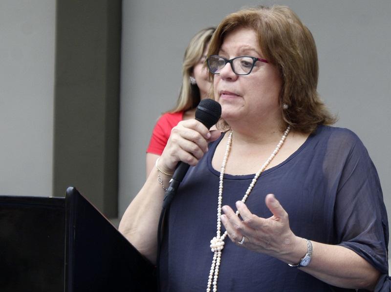 Gloria María Borrero Restrepo entregó obras en la Penitenciaria de Valledupar y habló de varios temas importantes en el tema carcelario.  Foto Joaquín Ramirez