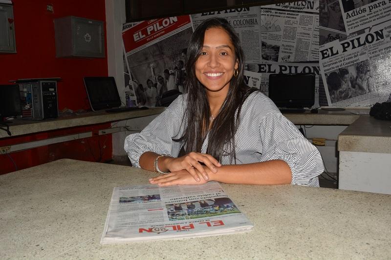 Claudia Margarita Zuleta se inscribió como precandidata a la Gobernación.  Foto: Sergio Mcgreen.