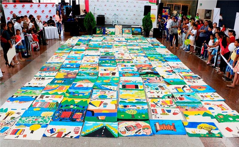 Los niños y niñas de la región están invitados a participar del concurso de pintura infantil del Festival de la Leyenda Vallenata.   Foto: CORTESÍA/ El Pilón.