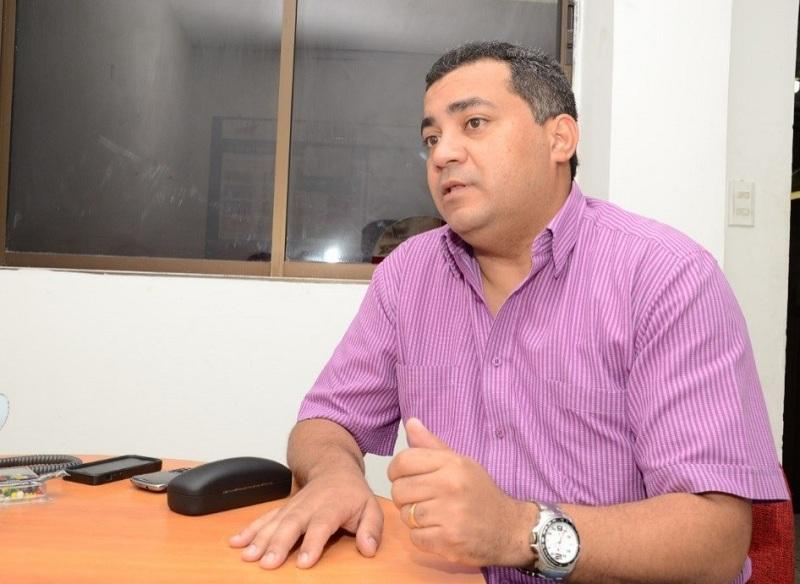 Omar Contreras fue defensor del pueblo en el Cesar antes de ser contralor de Valledupar.  Foto ARCHIVO