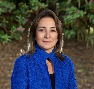 Presidenta del Grupo Energía Bogotá, Astrid Álvarez.  CORTESÍA.