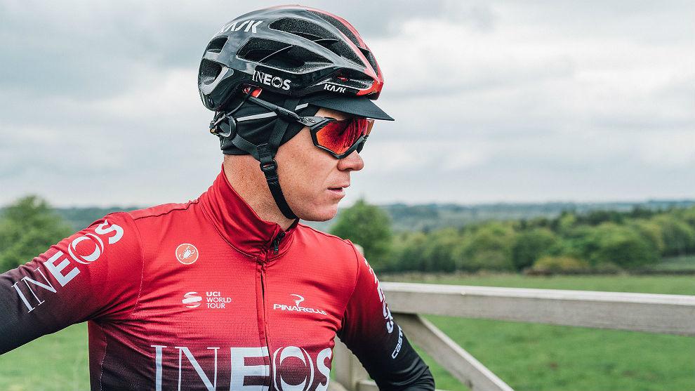 Chris Froome, ciclista británico.  CORTESÍA