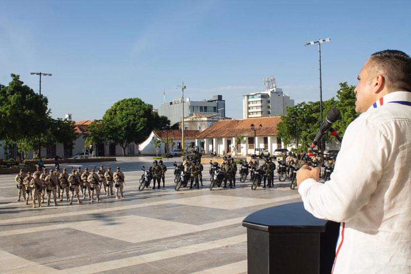 El evento se realizó en la Plaza Alfonso López.  Foto: Joaquín Ramírez