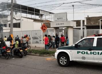 La captura la legalizó la Fiscalía 7 Local Uri.   REFERENCIA
