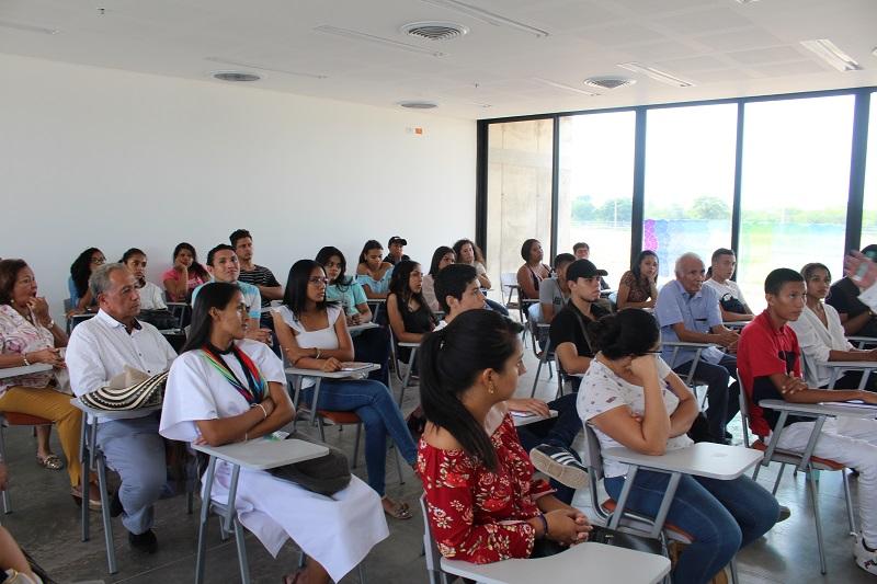 Cerca de 240 estudiantes inician un proceso de formación profesional en seis carreras.   Foto: Yonner/El Pilón.