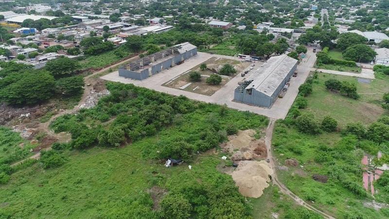 El lote de Idema ha generado toda una polémica por las viviendas que están prevista construirse en el.  CORTESÍA