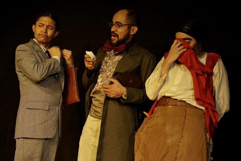 Obra de teatro 'La Farsa del Gallo'.  ARCHIVO
