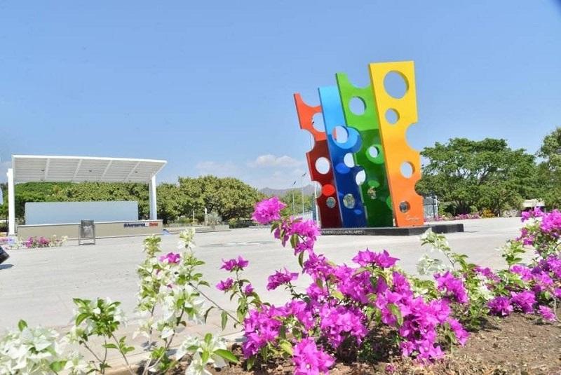 Plaza Fredy Molina de Patillal.   IMAGEN DE REFERENCIA