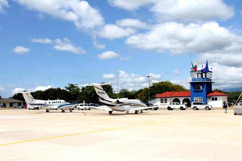Tres años después de ser inaugurado, el aeropuerto entraría en funcionamiento.   FOTO: CORTESÍA.
