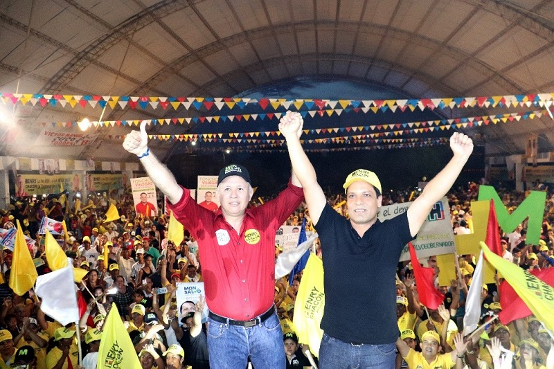 Henry Chacón y Luis Alberto Monsalvo