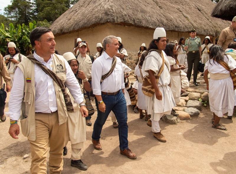 Discordia por visita de Duque a Pueblo Bello - ElPilón.com.co