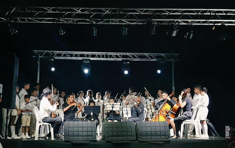 Orquesta Filarmónica del Cesar.   FOTO/TOMADA DE TWITTER.