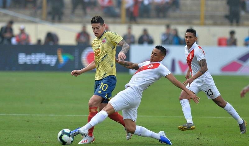 Colombia se medirá a Perù después de sus participaciones en la Copa Mundo y en la Copa América.