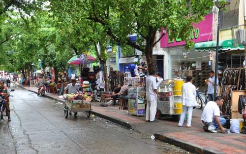 Algunos comerciantes cerraron en la jornada del jueves.   Foto: Archivo.