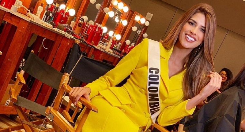 Gabriela Tafur es la candidata de Colombia en Miss Universo.   FOTO/INSTAGRAM.