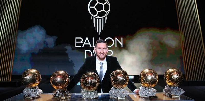 El argentino ganó su sexto Balón de Oro y superó  Cristiano Ronaldo, quien tiene cinco.   FOTO/CORTESÍA.