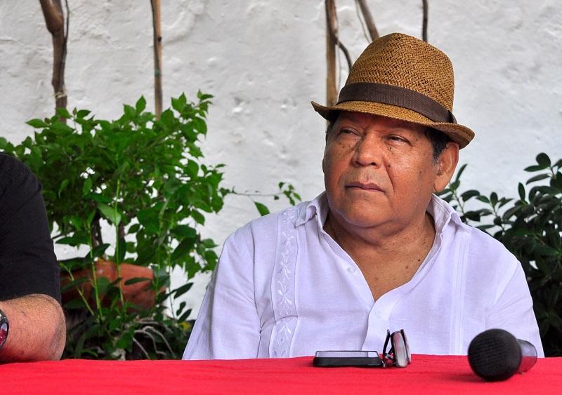 El compositor villanuevero Rosendo Romero conquistó el primer lugar en el concurso de canción inédita del Festival de Patillal.  FOTO/JOAQUÍN RAMÍREZ.