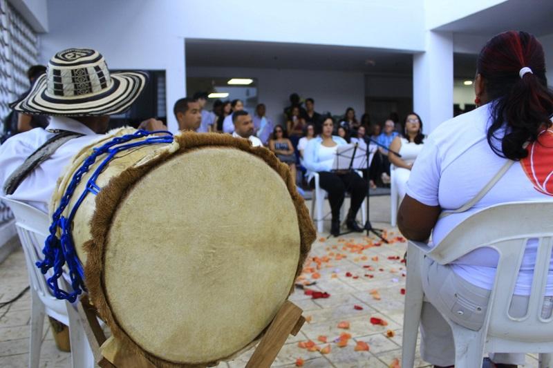 'La Noche de las idea' da apertura a las actividades de la Casa de la Cultura de Valledupar.  FOTO/JOAQUÍN RAMÍREZ.