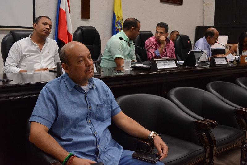 Silvio Cuello, personero de Valledupar para el periodo  2020-2024.  Foto/ SERGIO MCGREEN