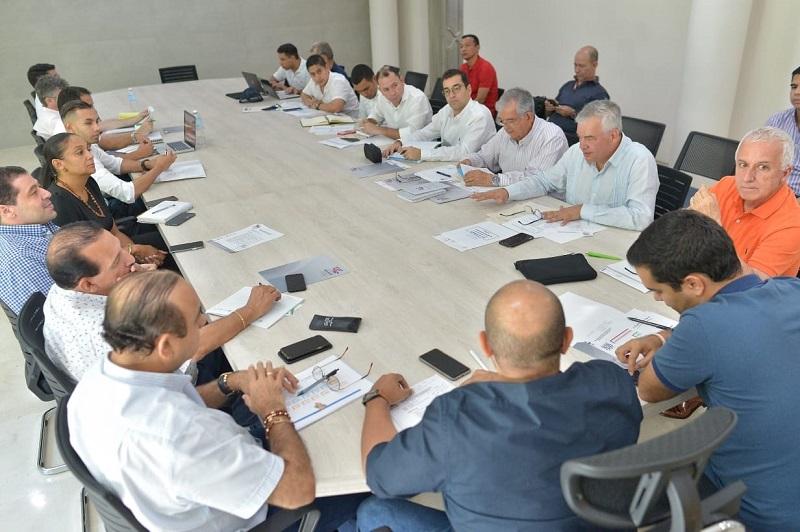 Este es el momento en el que Afranio Restrepo tomó posesión como director de los Juegos Bolivarianos.
