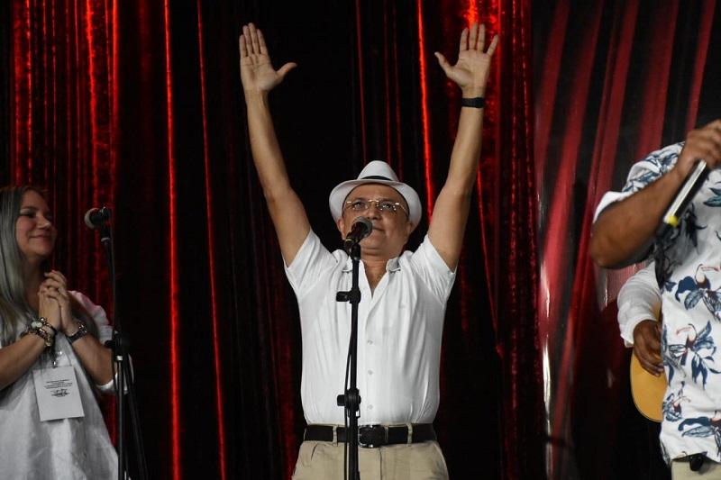 El vallenato Luis Ángel Rodríguez se corona como el rey de la canción vallenata inédita 2020.   Foto: Cortesía/EL PILÓN