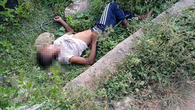 La víctima fue encontrada por la comunidad.   FOTO/CORTESÍA.