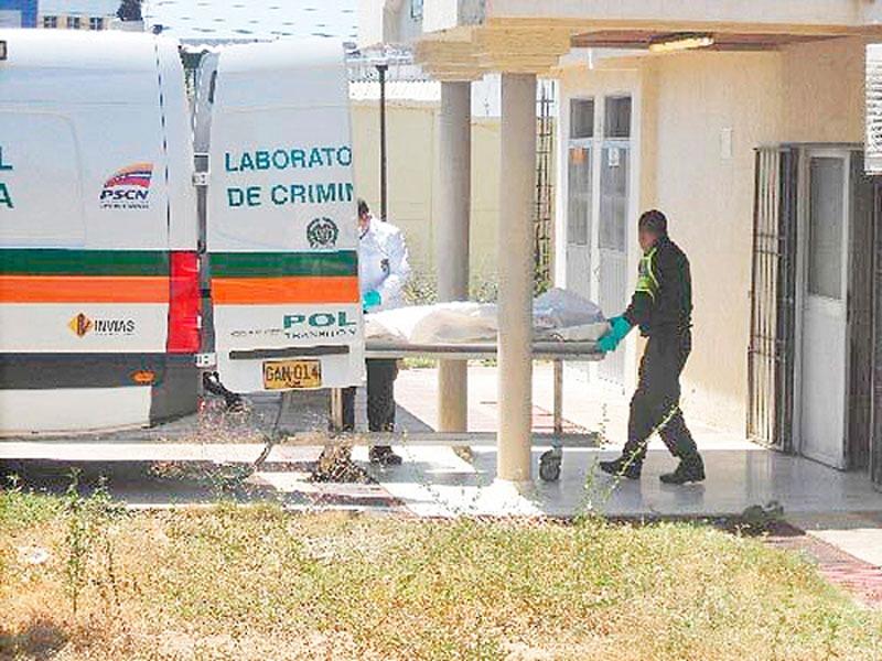 El cuerpo de Jaider Rafael Arias permanecía en la morgue.
