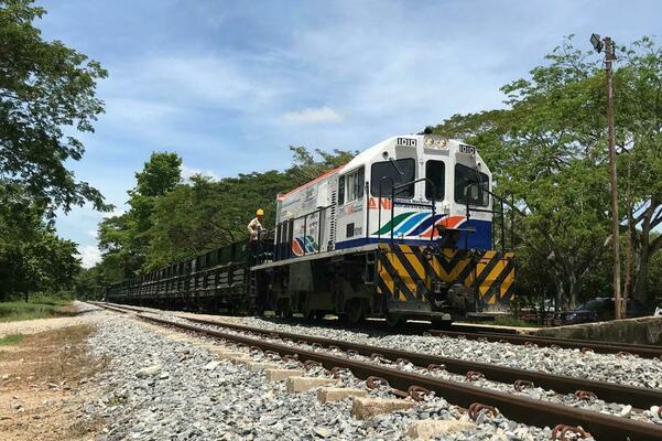 El tren conecta al departamento del Cesar con el Magdalena.   IMAGEN DE REFERENCIA.
