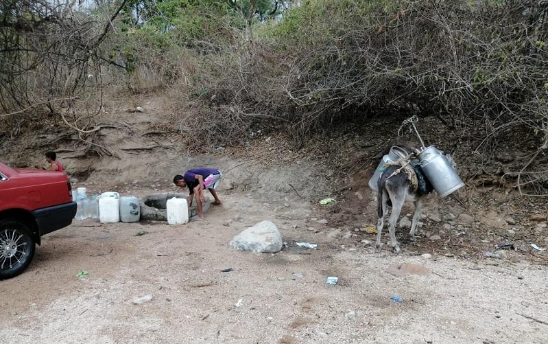 La sequía está afectando a toda la población de La Peña.   FOTO/CORTESÍA.