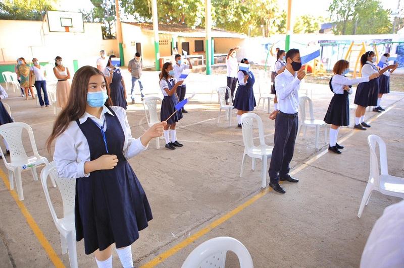 La verificación se realizará en los colegios donde se ha autorizado la alternancia educativa.  FOTO/CORTESÍA.
