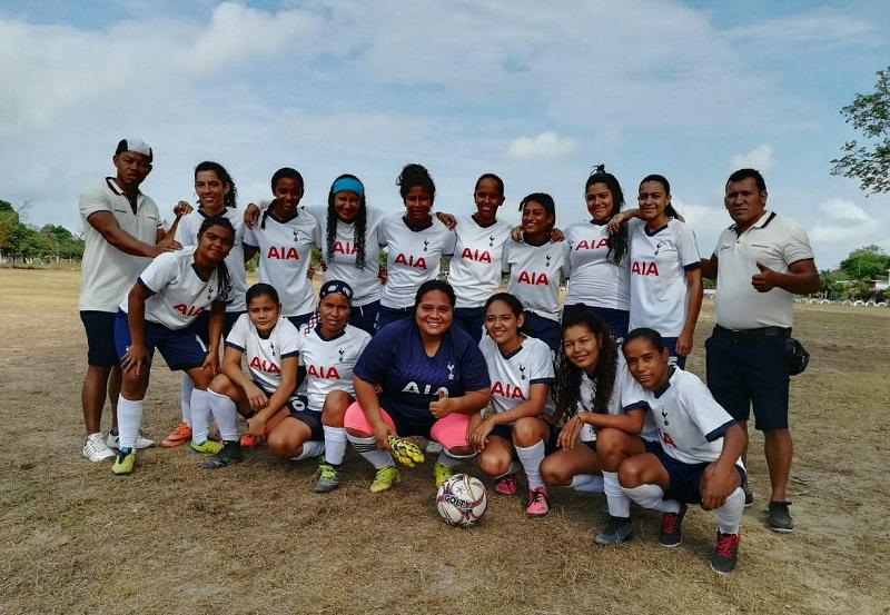 Las chicas de Codazzi dieron la sorpresa en el campeonato y ahora buscarán el cupo a la final.  FOTO/CORTESÍA.