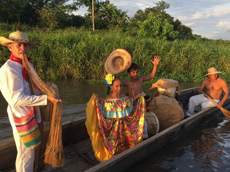 Río y folclor, conectados en la subregión río.   FOTO/CORTESÍA.