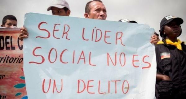 Los defensores sociales temen por sus vidas y la de sus familiares.  IMAGEN DE REFERENCIA.