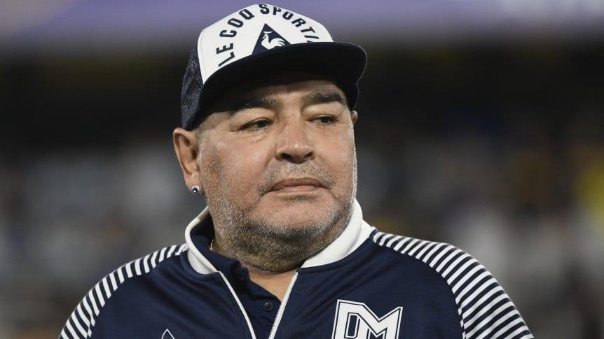 Diego Armando Maradona fallecido el 25 de noviembre del 2020 por un paro cardiorespiratorio.