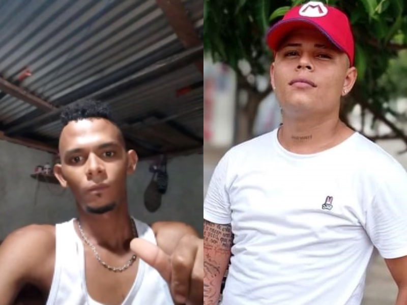 Ever David Reales, víctima del corregimiento de Aguas Blancas y Jhon Alfonso Arrieta asesinado en el parque del Ocho de Diciembre de Valledupar.