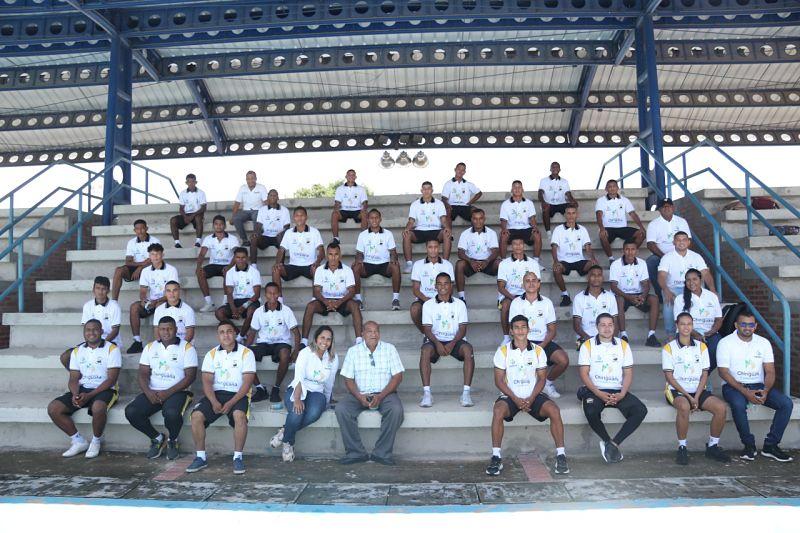 Los jugadores del Chiriguaná FC esperan dejar en alto el municipio.