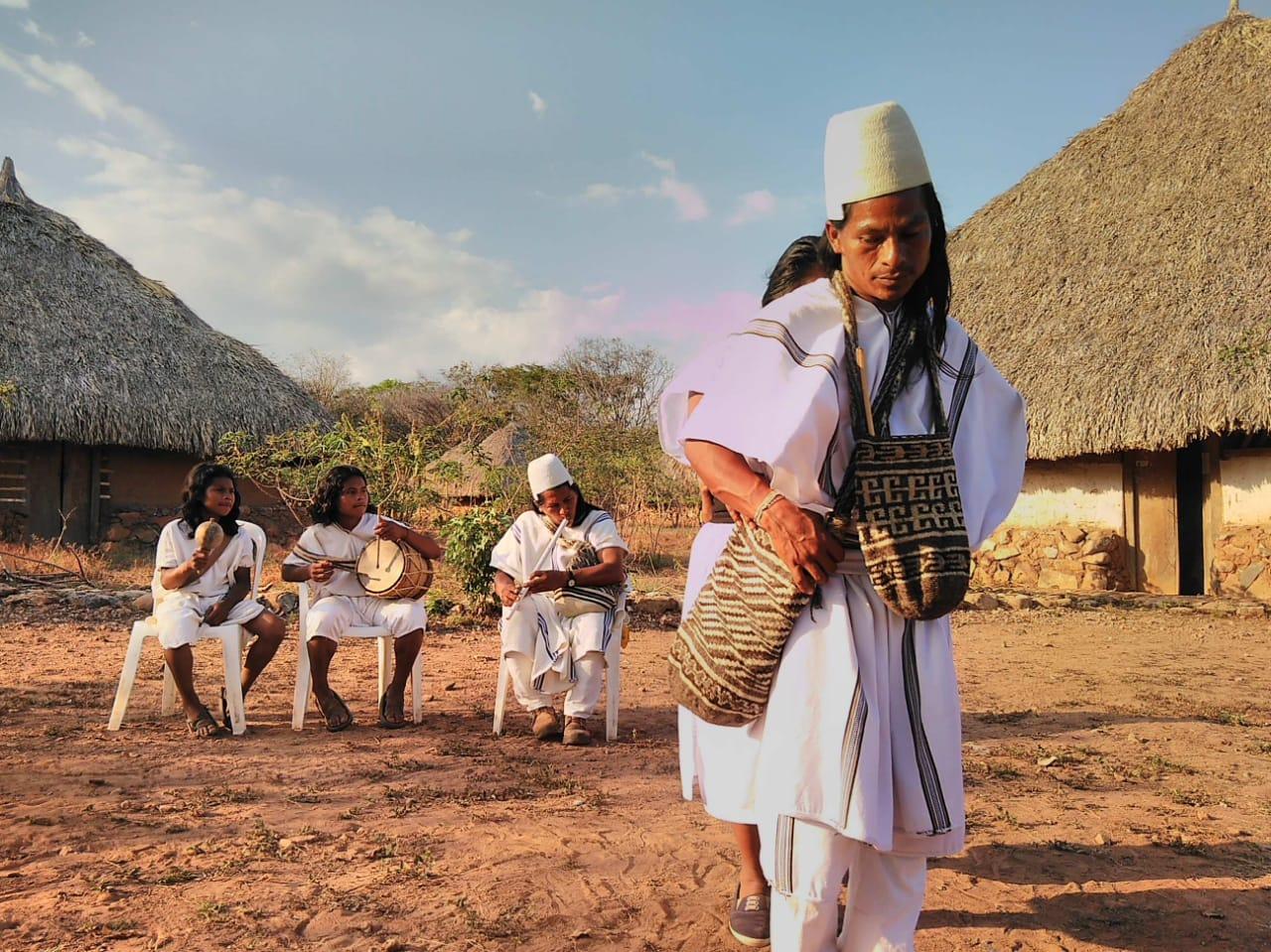 El grupo cultural fue creado hace tres años en Pueblo Bello, Cesar.   FOTO: CORTESÍA.