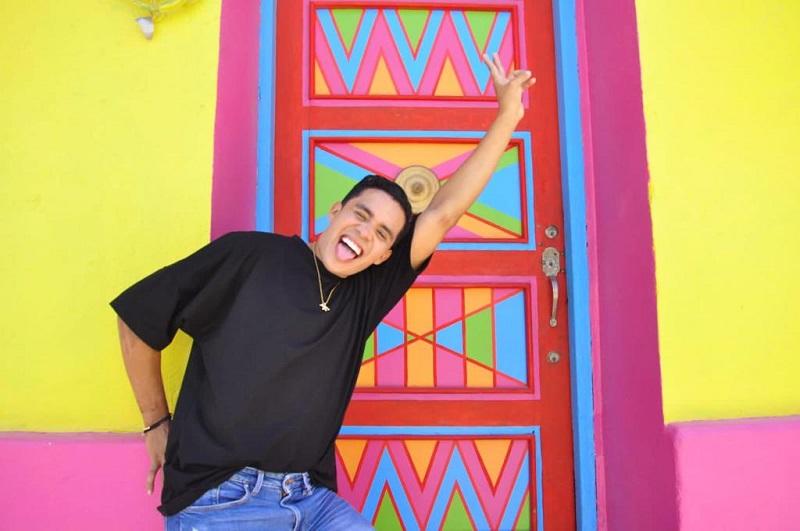 Su personalidad arrolladora y espontánea le ha permitido ganarse el cariño del público.   FOTO: JOAQUÍN RAMÍREZ.