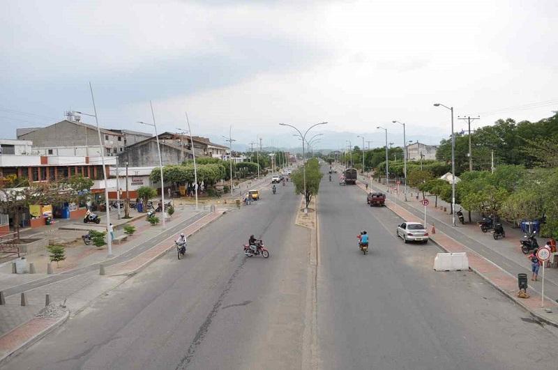Los hechos sucedieron en el municipio de Aguachica, sur del Cesar.  REFERENCIA.